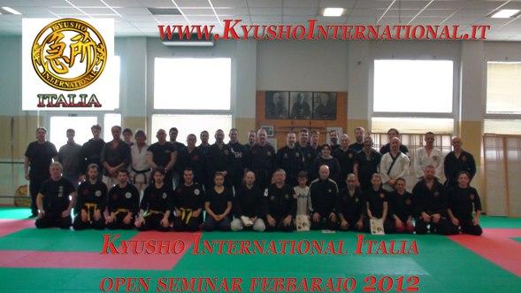 Italia 2012. Curso instructores